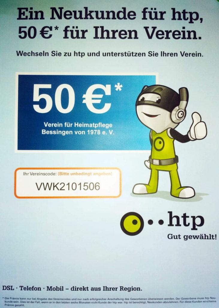 htp-Vereinscode